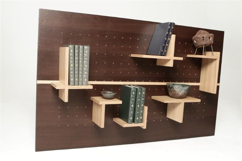 Mobilier biblioth que modulable pull play joue avec for Plan bibliotheque murale